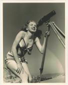 "1946 Marilyn Monroe Black/White Photograph by Joseph Jasgur.  Measures 11"" x 14"