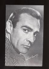 1947-1950s Sean Connery Exhibit card produced by Exhibit Supply Company MINT