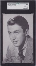 1947-66 Exhibits  JAMES STEWART  SGC 82 / 6.5