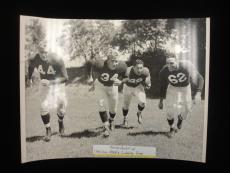 1947 Chicago Cardinals Dream Backfield 4x Autographed Vintage Photograph – JSA