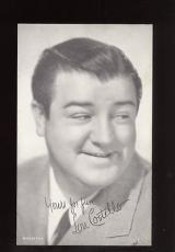 1947  Exhibit Card Lou Costello EX/MINT