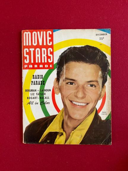 "1947, Frank Sinatra, ""MOVIE STARS"" Magazine (No Label) Scarce / Vintage"