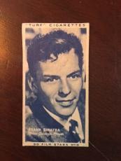 "1947, Frank Sinatra, ""Turf"" Cigarette Card (Rare)"