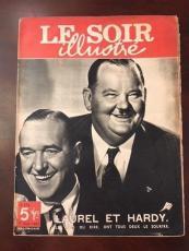 "1947, Laurel & Hardy, ""LE SOIR"" Magazine (Rare)"