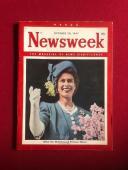 "1947, ""Princess"" (Queen) Elizebeth, ""Newsweek"" Magazine (No Label) Scarce"