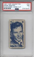 1947 Turf Cigarettes FRANK SINATRA #16 PSA 7 NM Film Stars Card