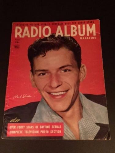"1948 Frank Sinatra, ""Radio Album"" Magazine (No Label)"