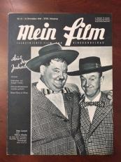 "1948, Laurel & Hardy, ""MEIN FILM"" Magazine (Rare)"