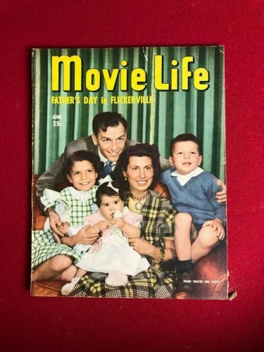 "1949, Frank Sinatra, ""Movie Life"" Magazine  (No Label ) Scarce / Vintage"
