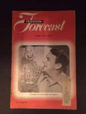 "1949 Howdy Doody, ""Television Forcast"" (Rare)"