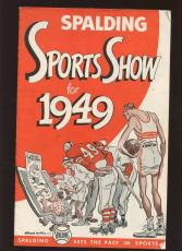 1949 Spalding Sports Show Comic Book Style Booklet