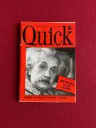 """1950, Albert Einstein, """"Quick"""" Magazine (Scarce / Vintage)"""