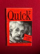 "1950, Albert Einstein, ""Quick"" magazine (Scarce)"