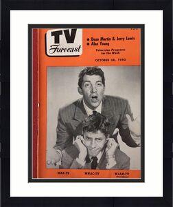 "1950, Dean Martin / Jerry Lewis, ""TV Forecast"" (No Label) Scarce"