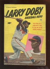 1950 Fawcett Baseball Comic Larry Doby