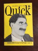 "1950, Groucho Marx, ""Quick"" Magazine"
