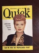 "1950, Lucille Ball, ""Quick"" Magazine"