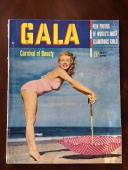 "1950 Marilyn Monroe, ""GALA"" Magazine (RARE) (No Label) Early Monroe!!"