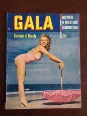 "1950, Marilyn Monroe, ""GALA"" Magazine, Vol. 1, No. 1 (Scarce)"