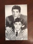 1950's, Dean Martin / Jerry Lewis, Vintage Exhibit Card (Scarce)