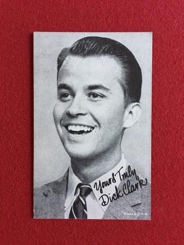 "1950's, Dick Clark ""Salutation"" Exhibit Card"