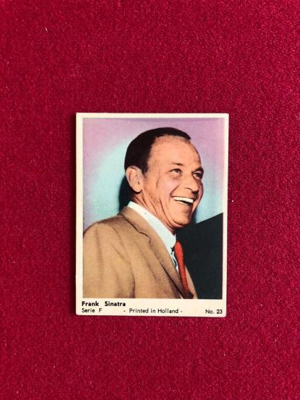 "1950's, Frank Sinatra, ""Holland"" Trading Card (Scarce)"