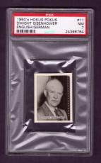 1950's Hokus Pokus DWIGHT EISENHOWER #11 PSA NM 7 English/German