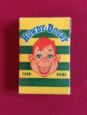 1950's, Howdy Doody, Card Game (Complete w/ Instructions) Scarce