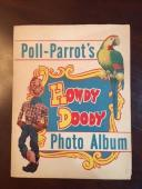 "1950's Howdy Doody, ""Poll-Parrots"" Photo Album w/ Photos (Scarce)"