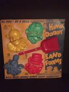 """1950's Howdy Doody, """"Un-Used"""" Sand Forms"""