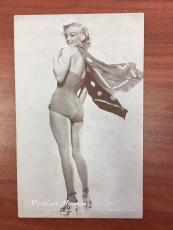 "1950's, Marilyn Monroe, ""Exhibit Card"" (Scarce)"