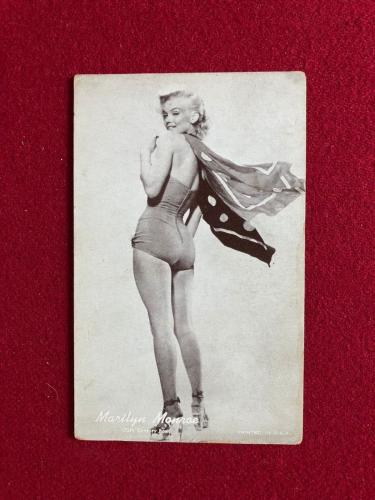 "1950's, Marilyn Monroe, ""Exhibit"" Card (Scarce)"