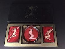 "1950's Marilyn Monroe, ""Tom Kelley"" Playing Cards / Coasters"