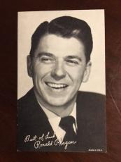 1950's, Ronald Reagan, Vending Exhibit Card