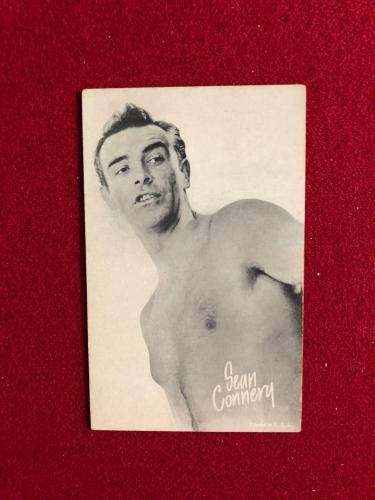 "1950's, Sean Connery, ""Exhibit"" Card (Scarce)"