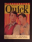 "1951 Dean Martin & Jerry Lewis, ""Quick"" Magazine"