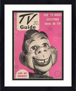 """1951 Howdy Doody, """"TV Guide"""", (No Label)"""