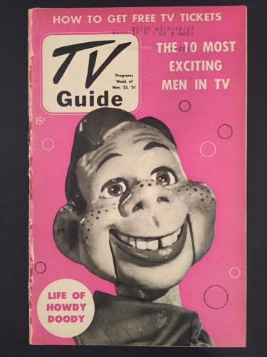 "1951 Howdy Doody, ""TV Guide"", (No Label)"