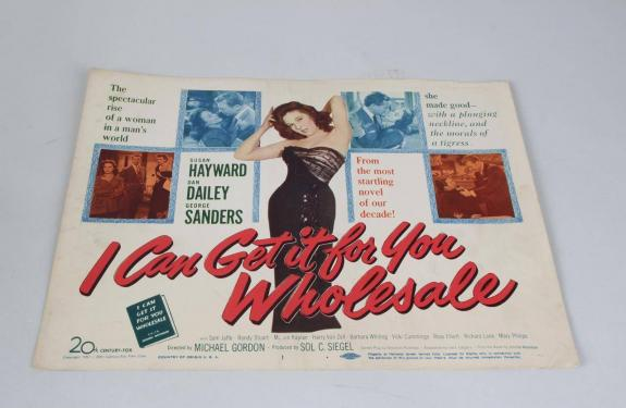 1951 I Can Get It For You Wholesale Movie Lobby Card