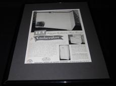 1951 IT&T Coolerator Framed 11x14 ORIGINAL Vintage Advertisement