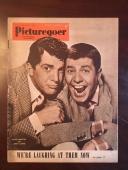 "1952, Dean Martin / Jerry Lewis, ""Picturegoer"" Magazine (No Label) Scarce"