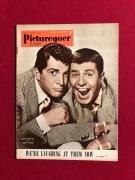 "1952, Dean Martin / Jerry Lewis, ""Picturegoer"" Magazine (Scarce)"