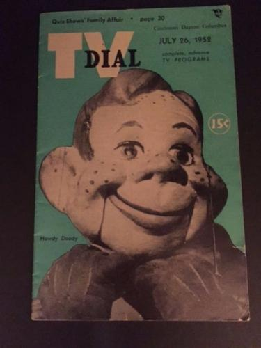 "1952 Howdy Doody, ""TV Dial"" (No Label) Scarce!!"