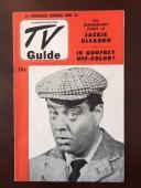 "1952, Jackie Gleason, ""TV Guide"", (No Label) Scarce"