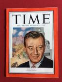 "1952, John Wayne, ""TIME"" Magazine (No Label) Scarce"