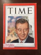 "1952, John Wayne, ""TIME"" Magazine (Scarce) ""The Duke)"