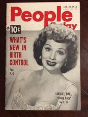 "1952, Lucille Ball, (I Love Lucy), ""People Today"" Magazine"