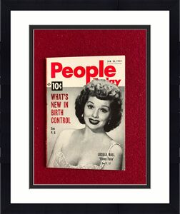 """1952, Lucille Ball """"People Today"""" Magazine (Scarce) (I Love Lucy)"""