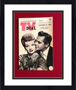 "1952, Lucille Ball ""TV DIAL"" (No Label)  RARE  (I Love Lucy)"