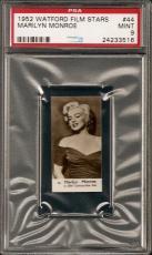 1952 Watford Film ~ MARILYN MONROE Rookie #44 PSA 9 Mint ~ Highest Graded !!